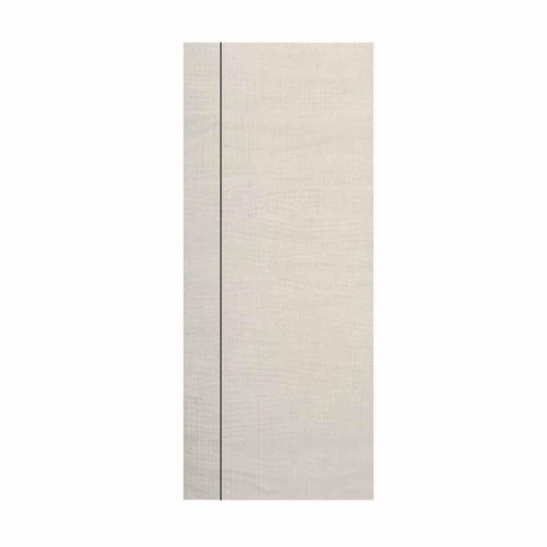 ประตู UPVC 01 สีขาวงาช้าง