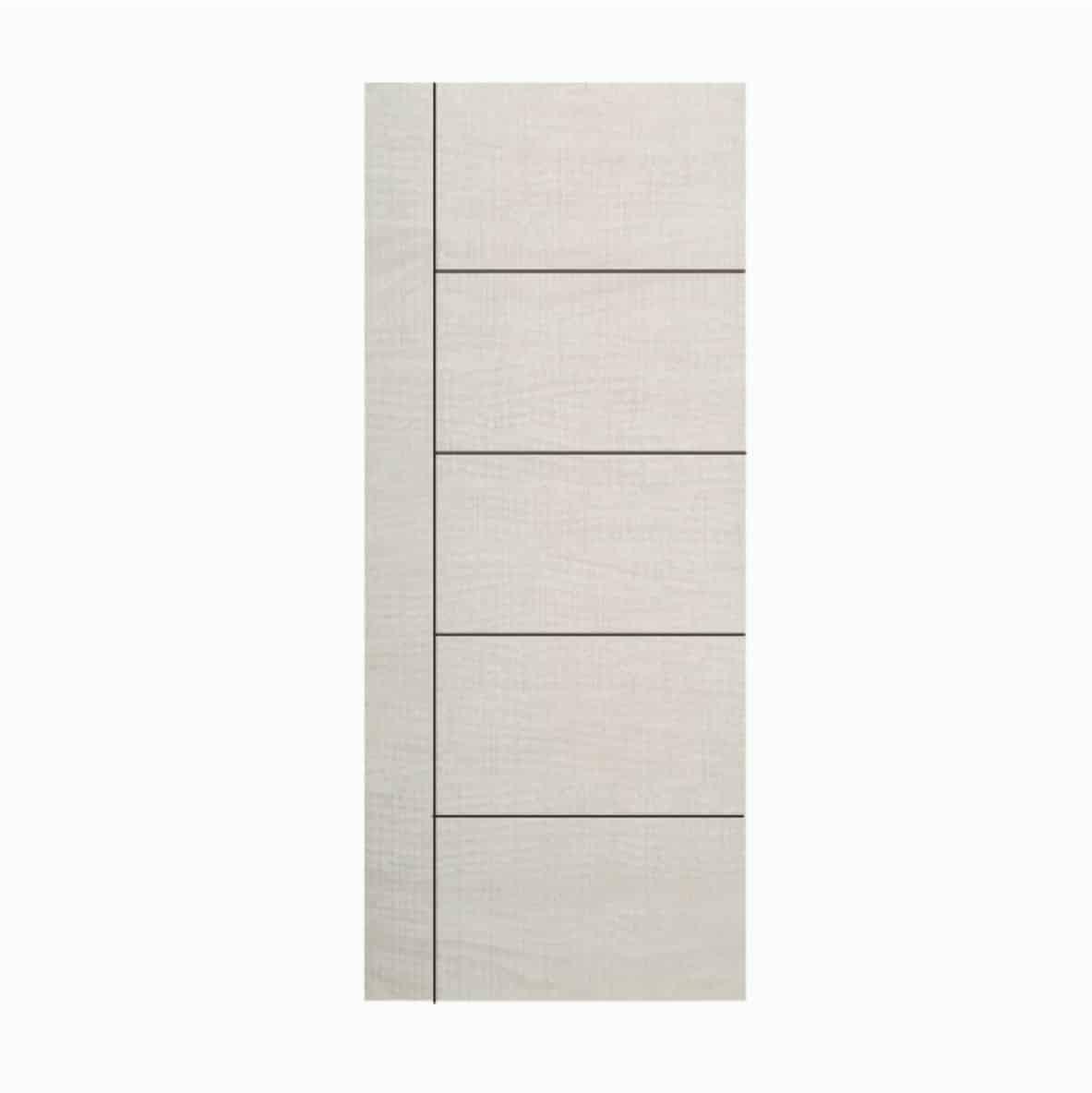 ประตู UPVC 05 สีขาวงาช้าง