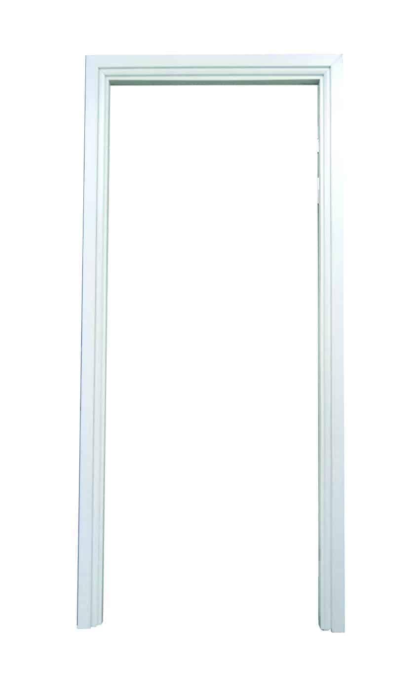 วงกบประตู UPVC แบบมีซับ รุ่น SUB 204 สีขาวงาช้าง แบบติดตั้งแห้ง