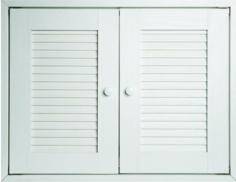 ประตูซิงค์รุ่น MD01 สีขาว