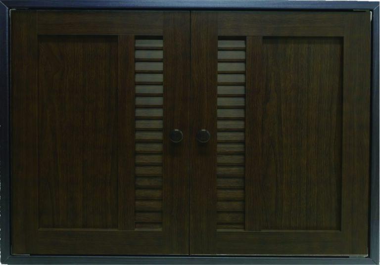 ประตูซิงค์รุ่น MD02 สีวอนัทโอ๊ค