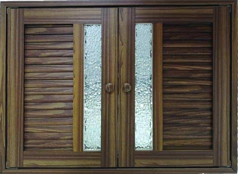 ประตูซิงค์รุ่น MD03 สีสัก