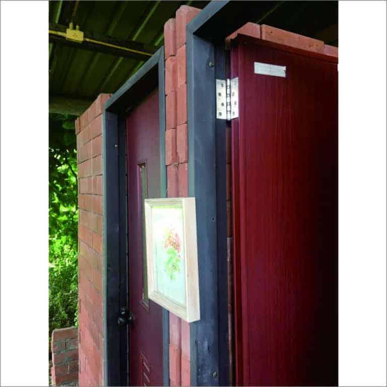โประตู UPVC