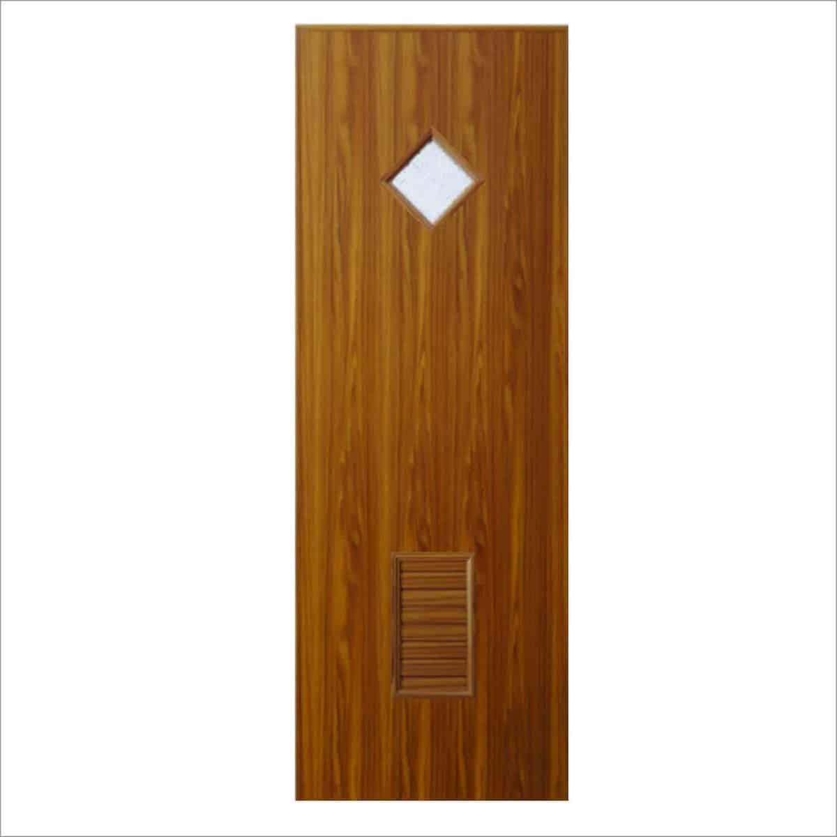 ประตู UPVC U15 สีวอนัท